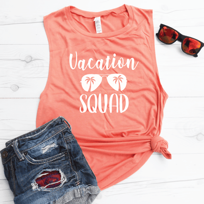 Vacation Squad Muscle Tank