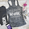 What Kind Of Wine Goes With Squats Burnout Tank