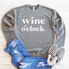 Wine O'Clock Drop Shoulder Sweatshirt
