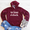 Wine O'Clock Fleece Lined Hoodie
