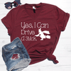 Yes, I Can Drive A Stick V-Neck Tee
