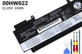 11.25V 00HW022 Battery for Lenovo ThinkPad T460s
