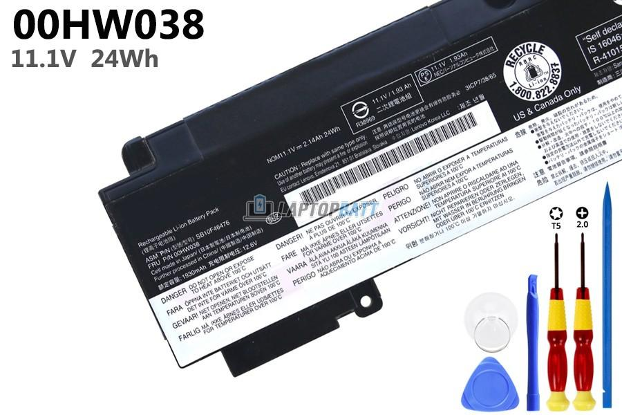 11.1V 00HW038 Battery for Lenovo ThinkPad T460s