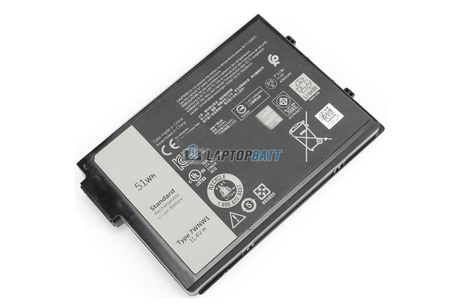 11.4V 51Wh Dell 7WNW1 battery