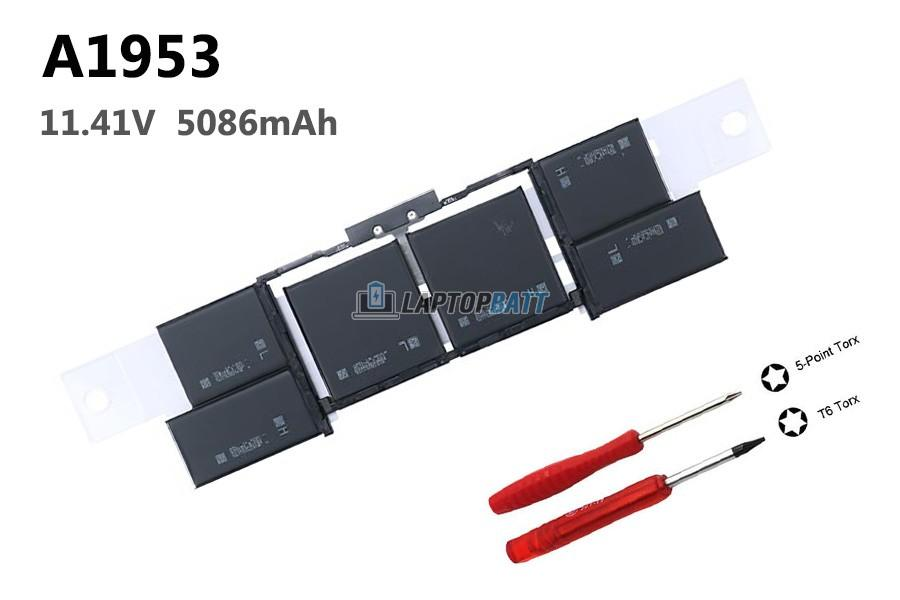 11.40V 83.6Wh Apple A1953 battery