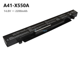 4 Cells 2200mAh Asus A41-X550 battery