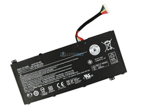 11.4V 4600mAh Acer AC14A8L battery