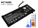 11.4V 4600mAh Acer Spin 3 SP314-51 battery