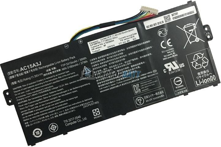 11.55V 3315mAh Acer AC15A3J battery
