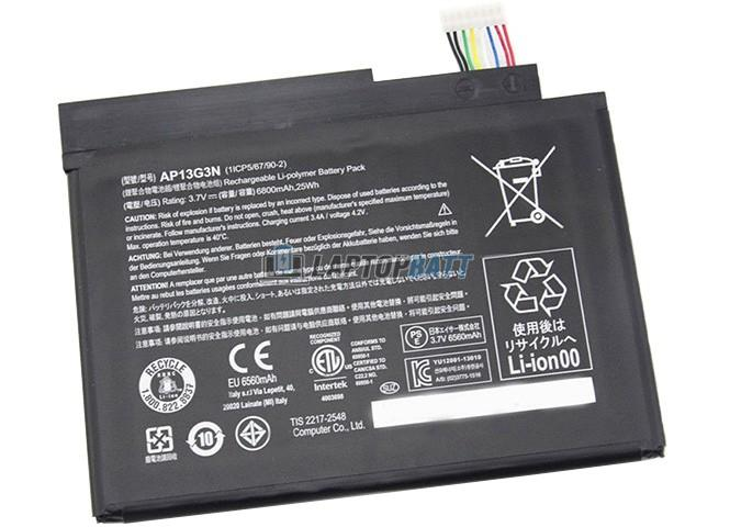 3.7V 6800mAh Acer AP13G3N battery