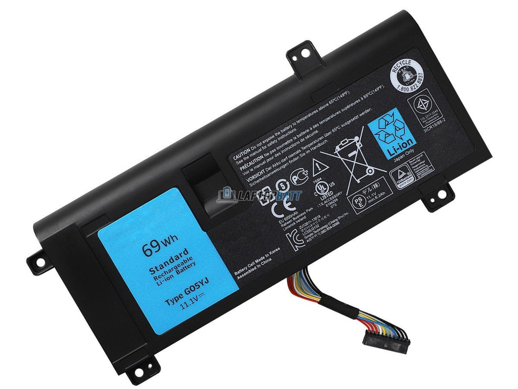 11.1V 69Wh Dell Alienware M14X R3 battery
