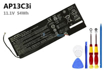 11.1V 4850mAh Acer AP13C3I battery