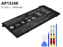 11.25V 3990mAh Acer AP13J3K battery