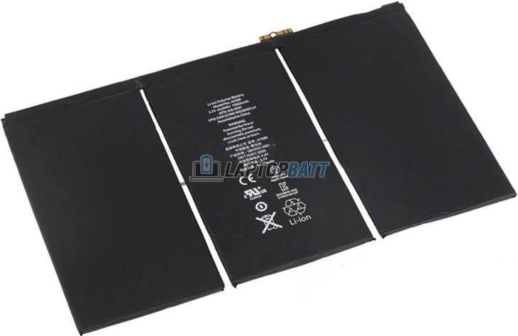 3.7V 11500mAh Apple iPad 3 battery