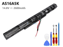 14.8V 2800mAh Acer AS16A5K battery