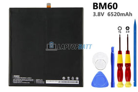 3.8V 6520mAh XiaoMi MI Pad 1 battery