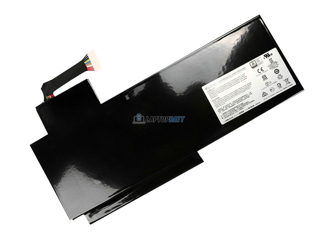 11.1V 5400mAh MSI BTY-L76 battery