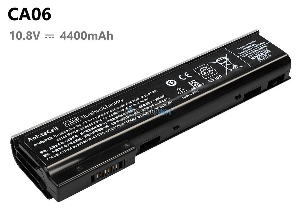 6 Cells 4400mAh HP 718755-001 battery