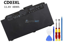 11.4V 48Wh HP CD03XL battery