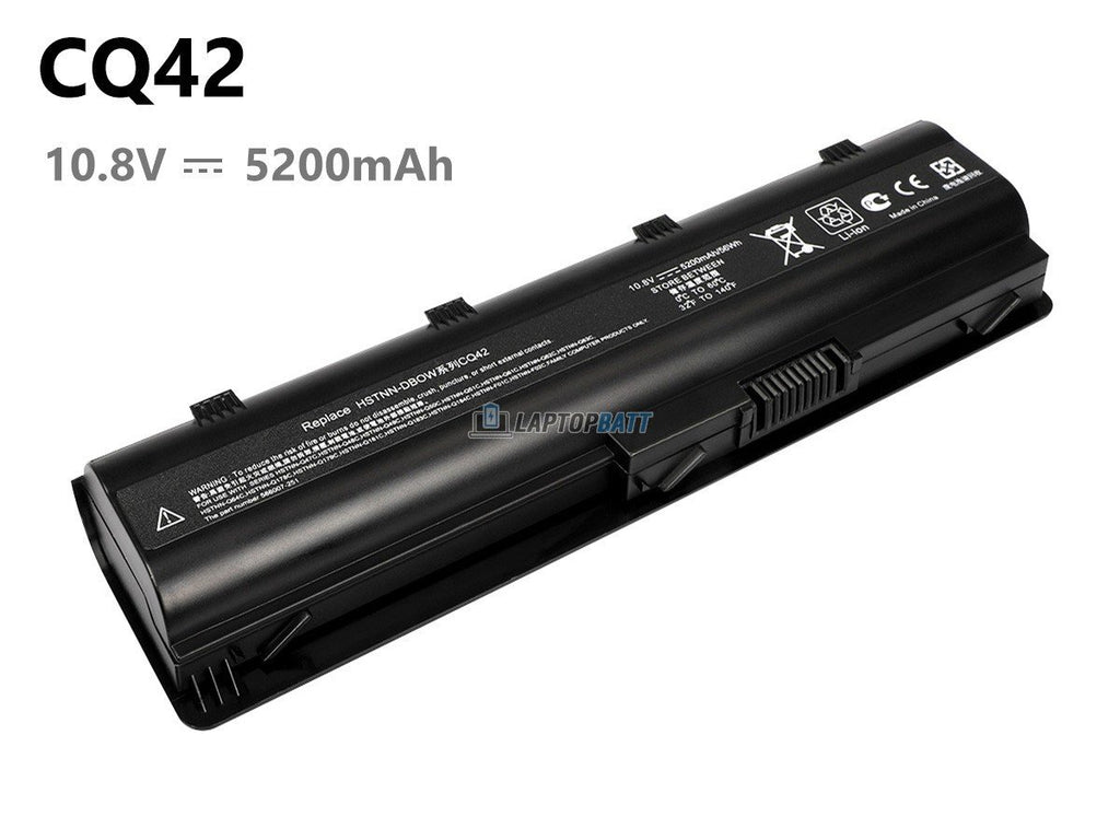 6 Cells 5200mAh HP 593553-001 battery