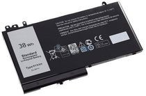 11.1V 38Wh Dell Latitude 12 (E5250) battery