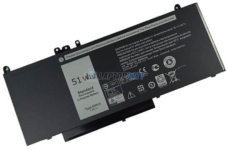 7.6V 62Wh Dell Latitude E5450 battery