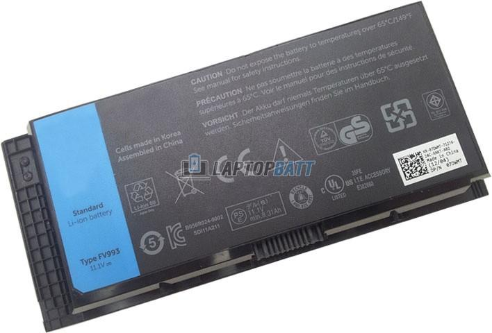 11.1V 97Wh Dell Precision M6600 battery