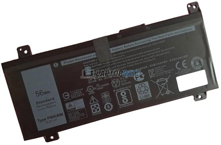 15.2V 56Wh Dell PWKWM battery