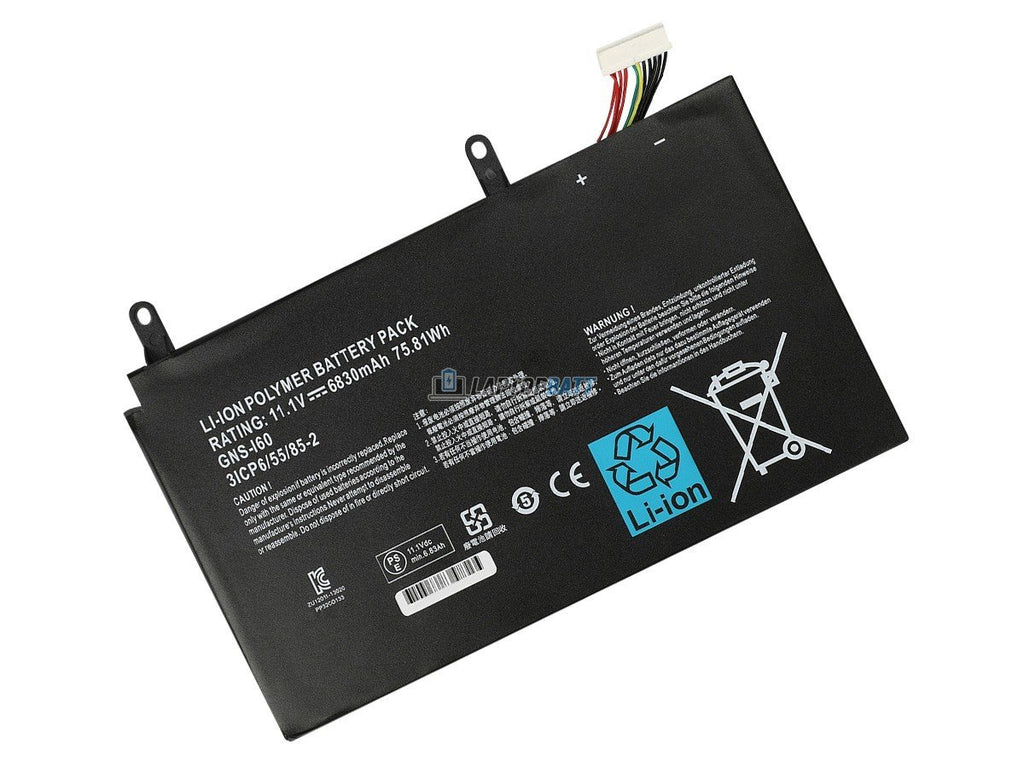 11.1V 75.81Wh Gigabyte GNS-I60 battery