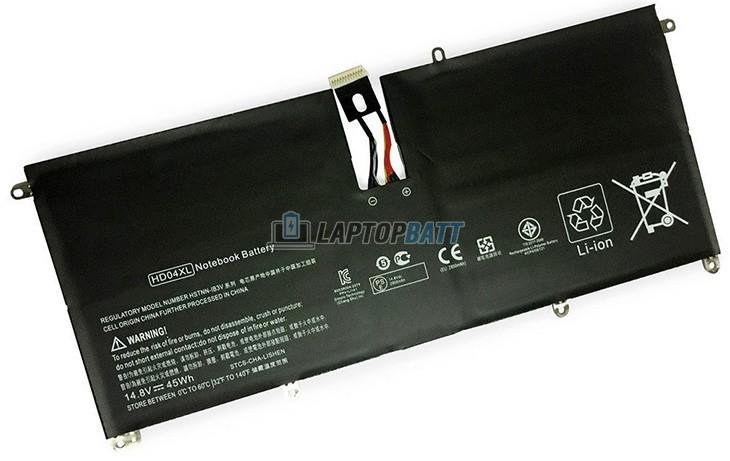 14.8V 45Wh HP HD04XL battery