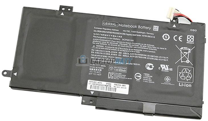 10.95V 48Wh HP LE03XL battery