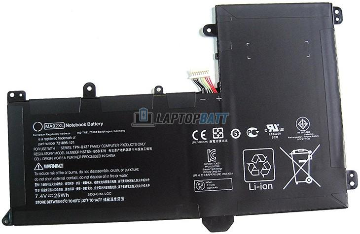 7.4V 25Wh HP MA02XL battery