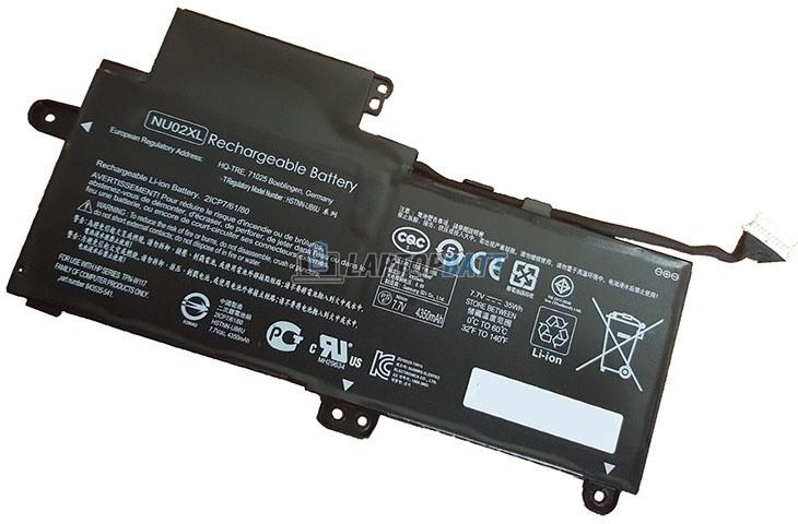 7.7V 35Wh HP NU02XL battery