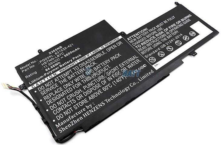 11.52V 65Wh HP PG03XL battery