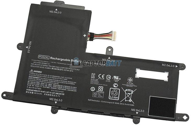 7.6V 37Wh HP PO02XL battery