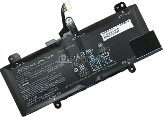7.6V 37Wh HP PP02XL battery