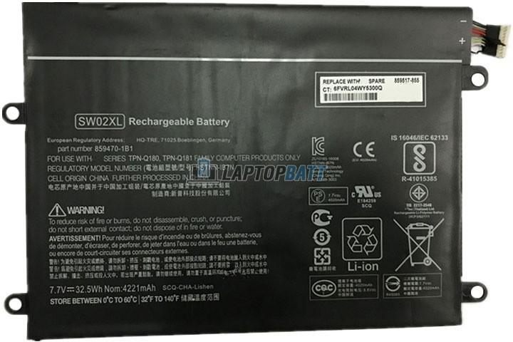 7.7V 32.5Wh HP SW02XL battery