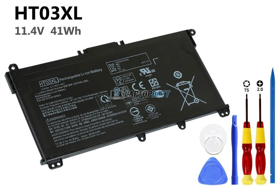 11.4V 41Wh HP HT03XL battery