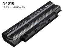 6 Cells 4400mAh Dell Inspiron N4010 battery