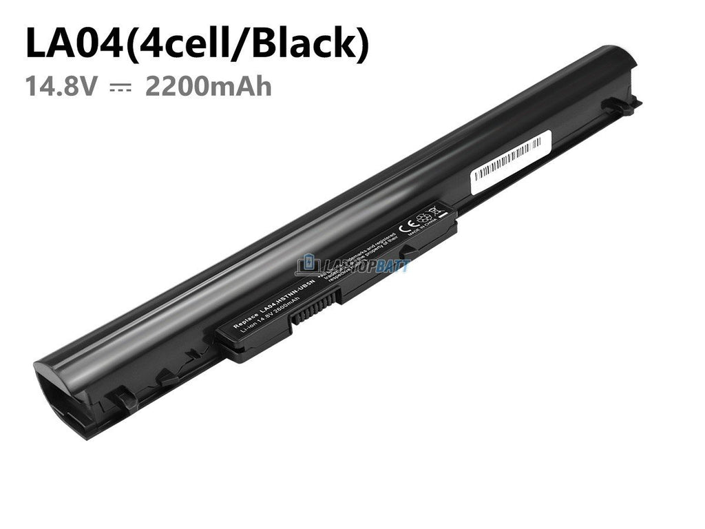 2200mAh Black HP LA04 battery
