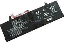 7.6V 25.84Wh LG LBJ722WE battery