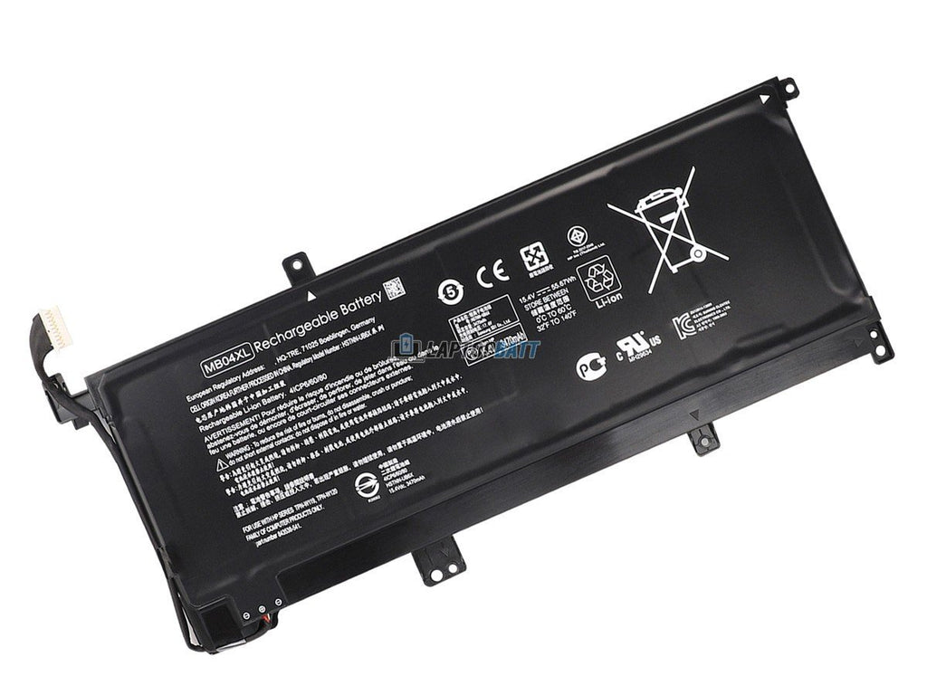 15.4V 55.67Wh HP MB04XL battery