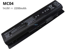 14.8V 2200mAh HP MC06 battery