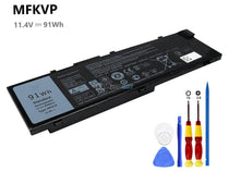 11.4V 91Wh Dell Precision 17-7710 battery