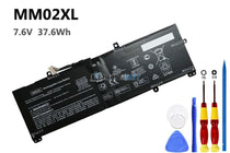 7.6V 37.6Wh HP MM02XL battery