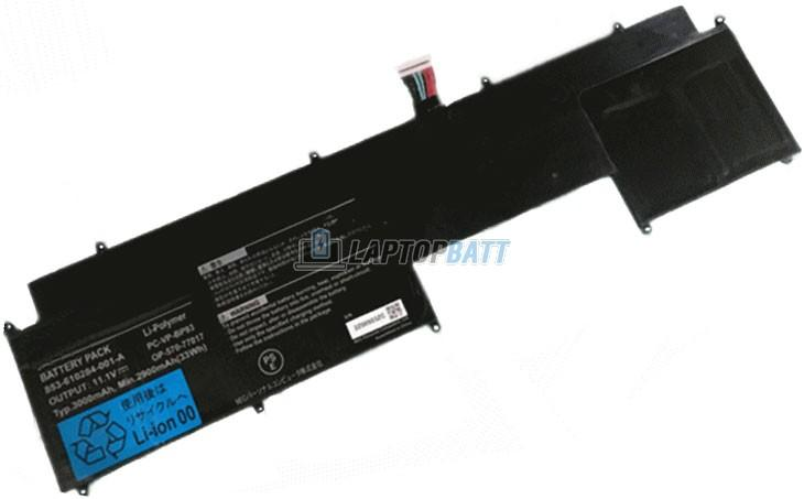 11.1V 2900mAh NEC PC-VP-BP93 battery