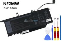 7.6V 52Wh Dell NF2MW battery