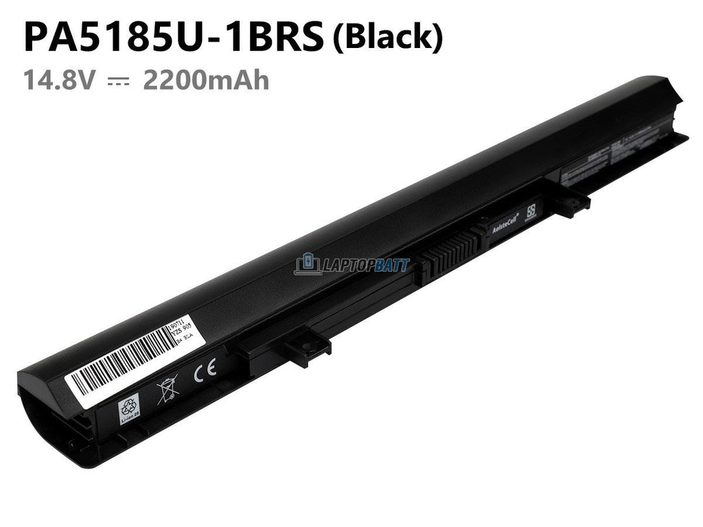 Black Toshiba PA5185U-1BRS battery