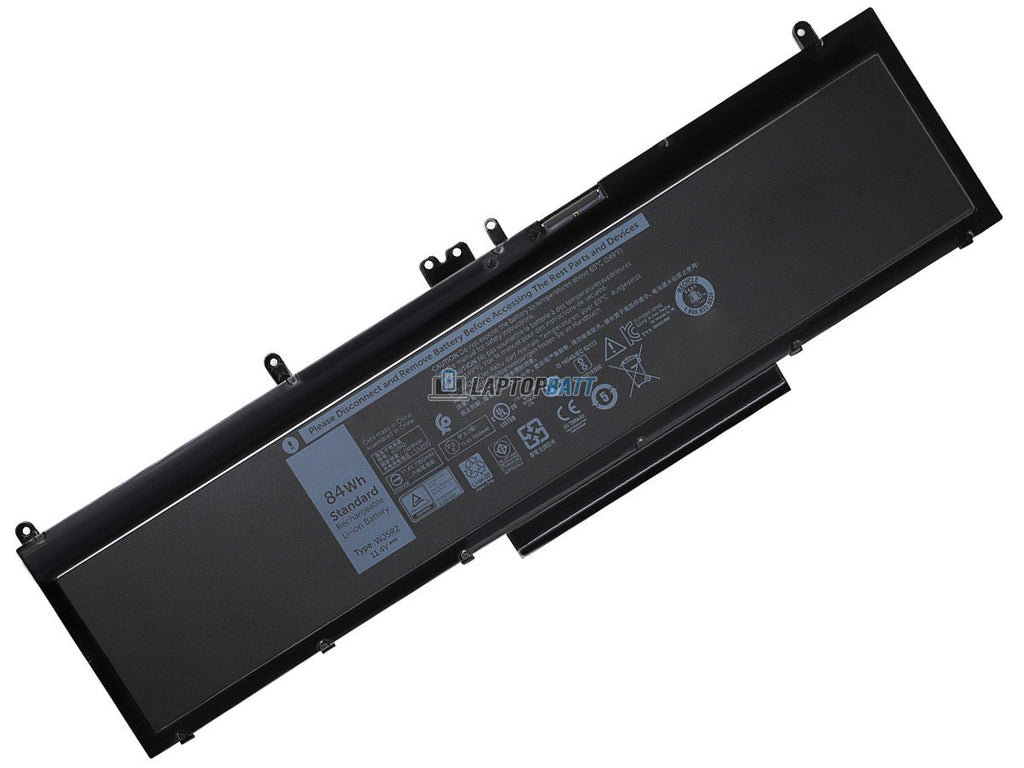 11.4V 84Wh Dell Precision 3510 Workstation battery
