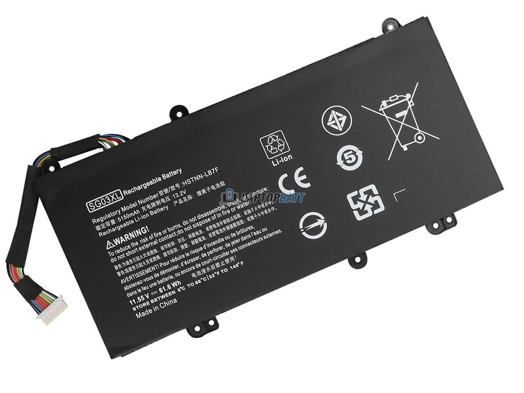 11.55V 61.6Wh HP SG03XL battery